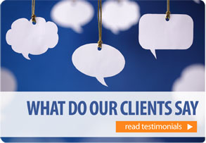 What do our clients say